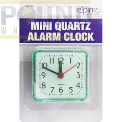 Picture of ELPINE MINI QUARTZ ALARM CLOCK