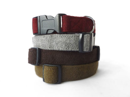 Picture of Maroon Wool Collar - Medium