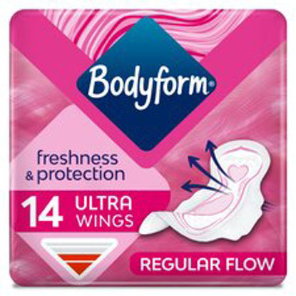 Picture of Bodyform Ultra Normal Wing Sanitary Towels 14 Pack