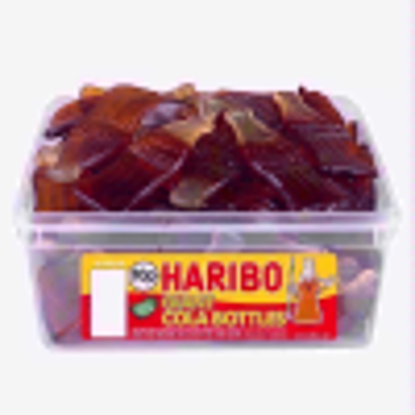 Picture of Haribo Giant Cola Bottles - 60 Pieces per Tub