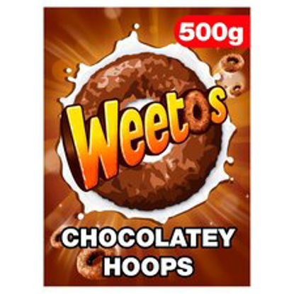 Picture of Weetabix Chocolate Weetos Cereal 500G