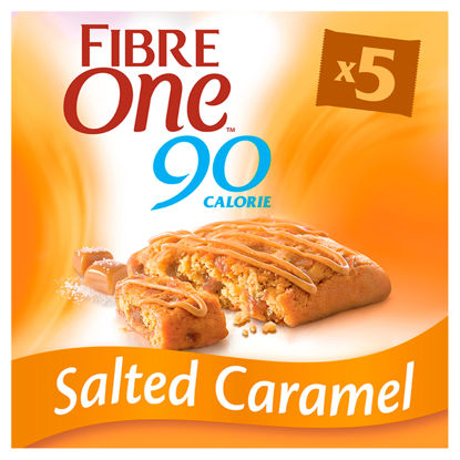 Picture of Fibre One Salted Caramel Bars 5X24g