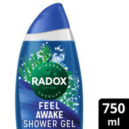 Picture of Radox Shower Gel Feel Awake 750Ml