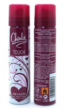 Picture of Revlon Charlie Touch Perfumed Body Spray With Wild Rose And Vanilla For Ladies - 75Ml