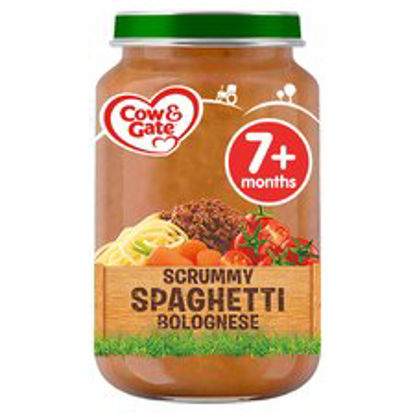 Picture of Cow & Gate Spaghetti Bolognese Jar 200G 7 Mth+