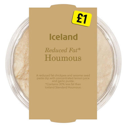 Picture of Iceland Reduced Fat* Houmous 200g