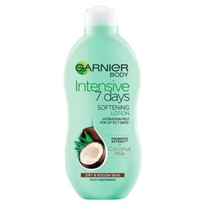 Picture of Garnier Intensive 7 Days Coconut Lotion Dry Rough Skin 400ml