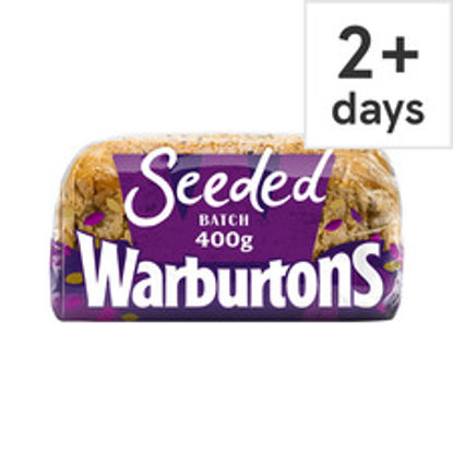 Picture of Warburtons Seeded Batch Bread 400G