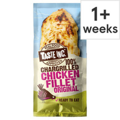 Picture of Taste Inc 100% Chargrilled Chicken Fillet Original 35G