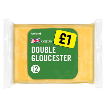 Picture of Iceland British Double Gloucester Cheese 180g