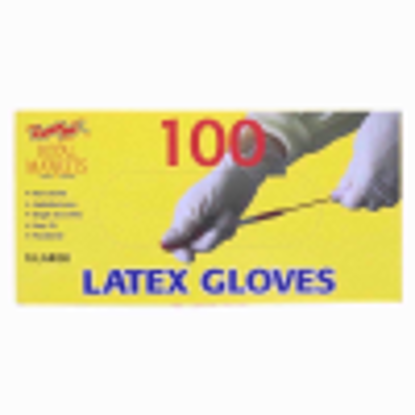 Picture of ROYAL LATEX POWDERED100 GLOVES X-LARGE (sp)