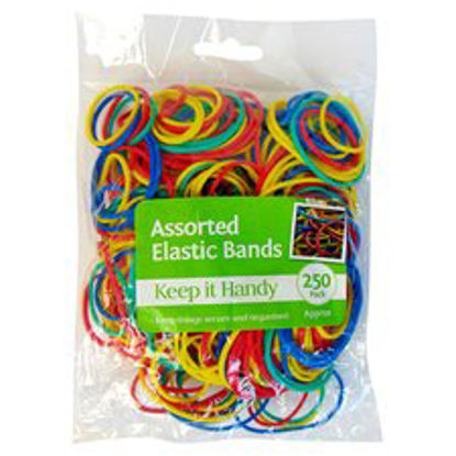 Picture of Keep It Handy Elastic Bands 250Pk