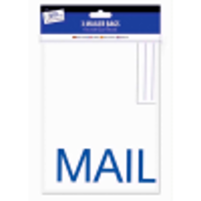 Picture of Tallon Just Stationery 320x440mm Large E Mailer Bag (Pack of 3)