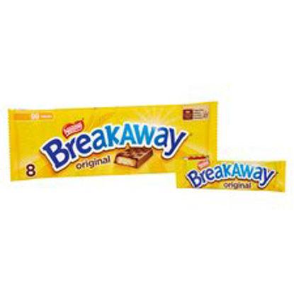 Picture of Breakaway Milk Chocolate Biscuit 8 Pack 152.8G
