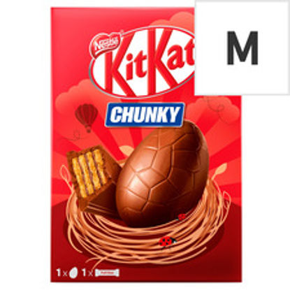 Picture of Kit Kat Chunky Milk Chocolate Easter Egg 129G