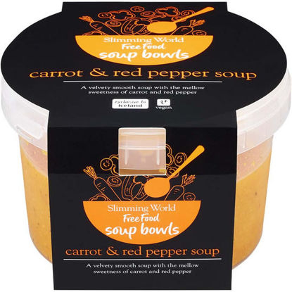 Picture of Slimming World Carrot and Red Pepper Soup 500g