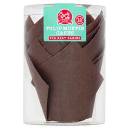 Picture of Create A Cake Tulip Muffin Cases 12 Pack