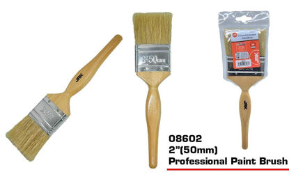 """Picture of JAK Professional Paint Brush with Wooden Handle - 2"""""""