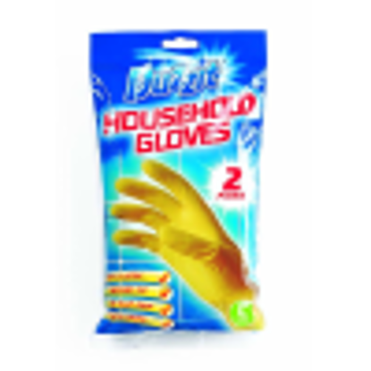 Picture of Duzzit Household Gloves - Large - 2 Pairs