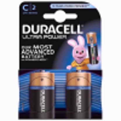 Picture of Duracell Ultra Power Alkaline C Battery (Pack of 2)
