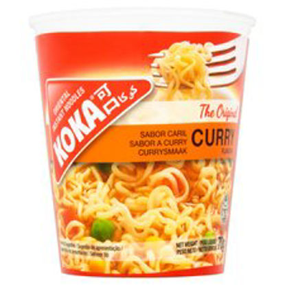 Picture of Koka Instant Noodles Curry Flavour 70G