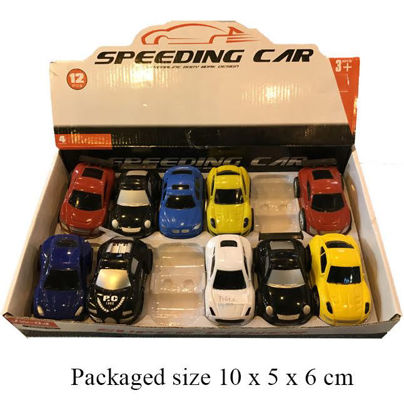 Picture of Pull Back Racer Cars - Assorted Designs And Colours