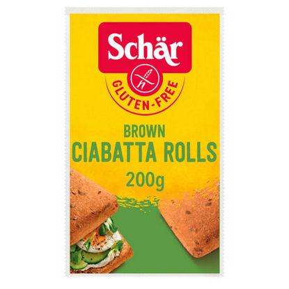 Picture of Schar Brown Ciabatta Rolls 200G