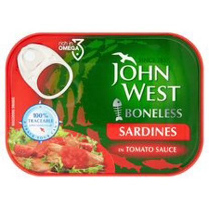 Picture of John West Boneless Sardine Tomato Sauce 95G