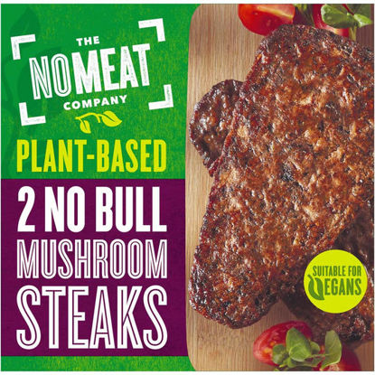 Picture of No Bull Mushrooms Steaks 2 x 80g (160g)