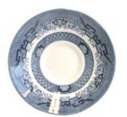 Picture of Blue Willow Tea Cup Saucer