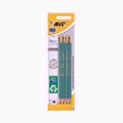 Picture of BIC PENCILS BLISTER 4