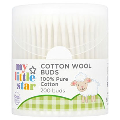 Picture of Superdrug My Little Star Cotton Wool Buds x200