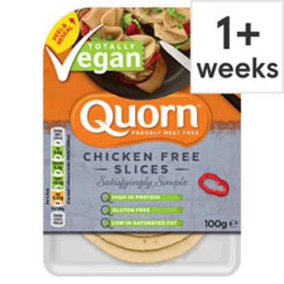 Picture of Quorn Vegan Chicken Free Slices 100G