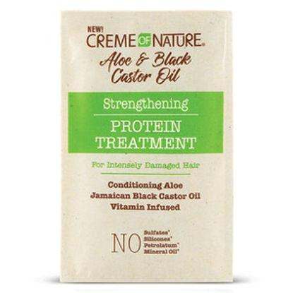 Picture of Crème of Nature Aloe & Black Castor Oil Protein Treatment