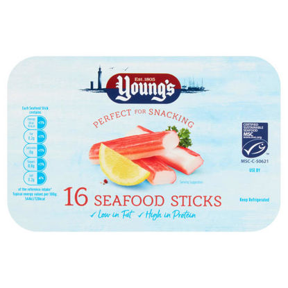 Picture of Young's 16 Seafood Sticks 200g