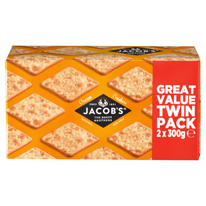 Picture of Jacob's Original and Best Cream Crackers 2 x 300g