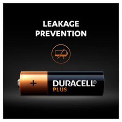 Picture of Duracell Plus 4 Pack AA Batteries
