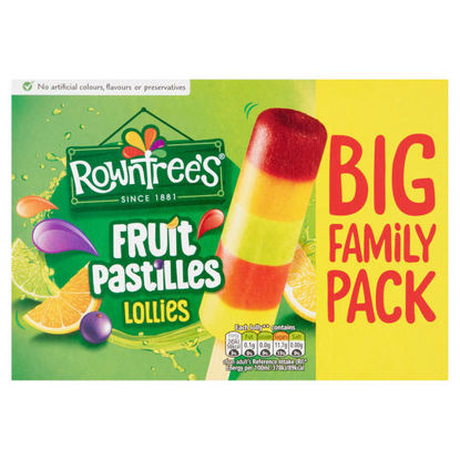 Picture of Rowntree's Fruit Pastilles Lollies 8 x 65ml