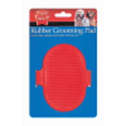 Picture of rubber grooming pad
