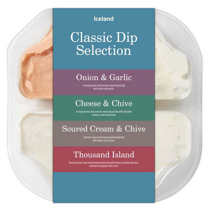 Picture of Iceland Classic Dip Selection 400g