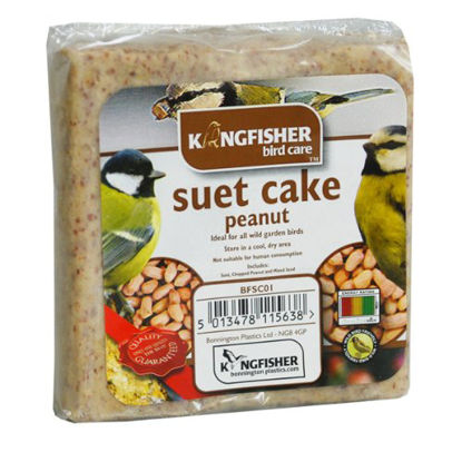 Picture of King Fisher Suet Cake with Peanuts