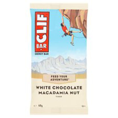 Picture of Clif White Chocolate Macadamia Nut Bar 68 g (Pack of 6)