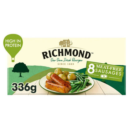 Picture of Richmond 8 Thick Frozen Meat Free Sausages