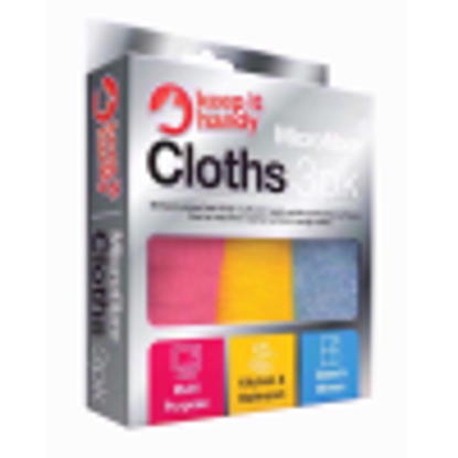 Picture of Keep it Handy MicroFibre Cloth, Extra Large, 30 X 30 cm, 3-Pack