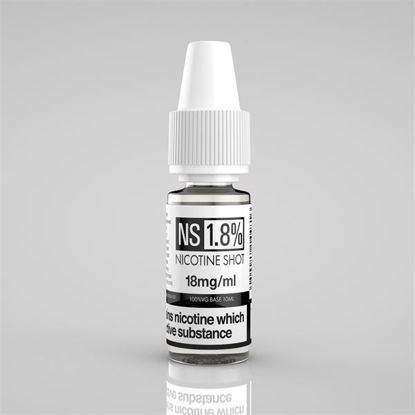 Picture of NS Nicotine Shot - 18Mg - 100% VG - 10Ml