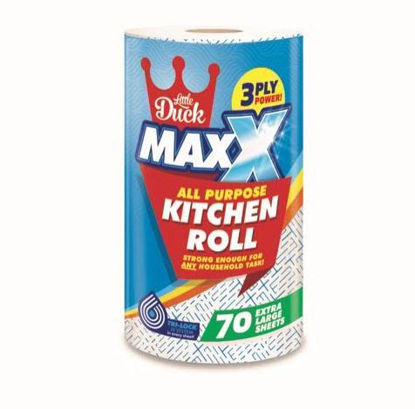 Picture of Little Duck Maxx All Purpose Kitchen Roll / Towels - 3 Ply