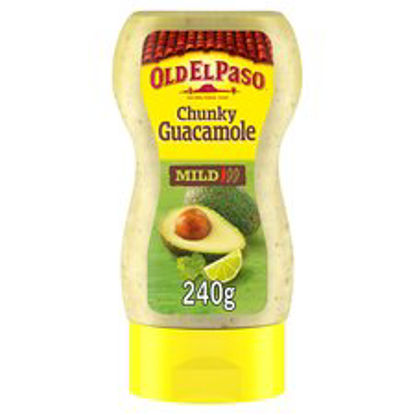 Picture of Old El Paso Mexican Squeezy Chunky Guacamole 240g