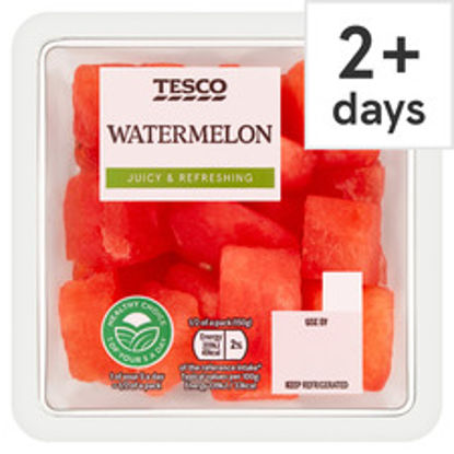 Picture of Tesco Watermelon Chunks 300G