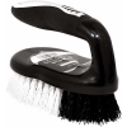 Picture of Iron Scrubbing Brush Ergonomic Black/Chrome