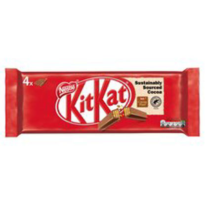 Picture of Kit Kat Milk Chocolate 4 Pack 166G